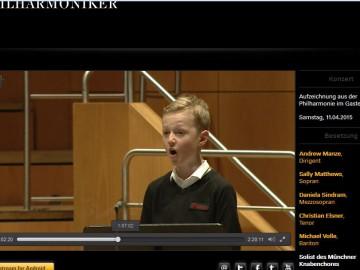 """""""Elias"""" in der Münchner Philharmonie"""
