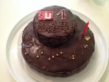 Wir feiern unseren 1. Geburtstag