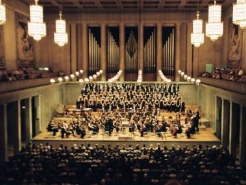 Mit dem War Requiem in Brixen und München