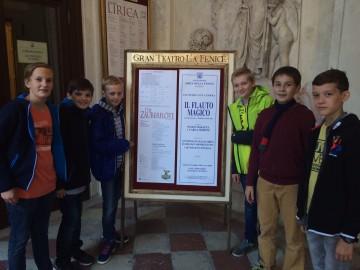Erste Bilder aus Venedig