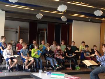 Letzter Probentag vor Vivaldi/Mozart