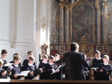 Gottesdienst im Kloster Schäftlarn