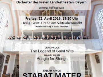 Stabat Mater in der Heilig-Geist-Kirche München