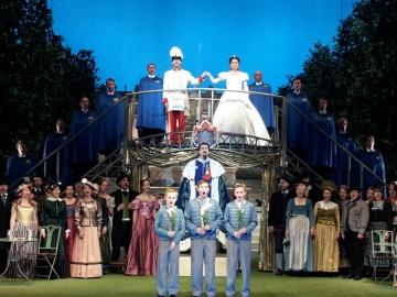 Zauberflöten-Premiere im Prinzregententheater